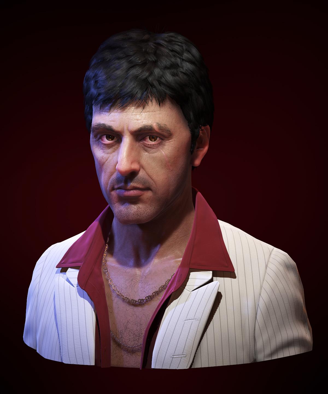 Al Pacino as Tony Mont...